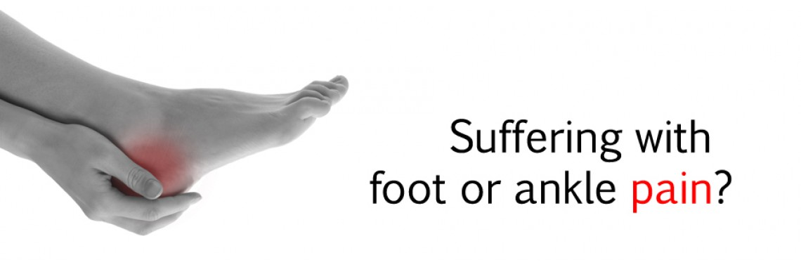 Suffering Foot Pain