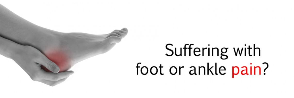Suffering Foot Pain